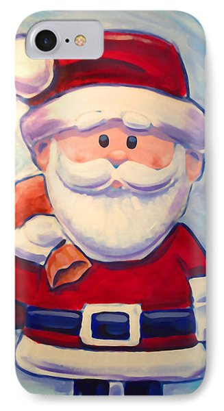 Santa Claus IPhone Case by Geoff Strehlow