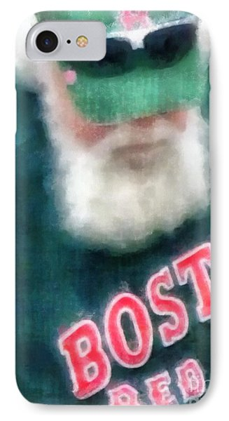 Santa Claus Spotted At Spring Training IPhone Case