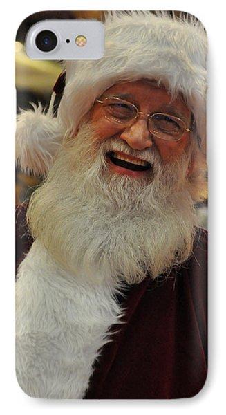 Santa Claus IPhone Case by Teresa Blanton