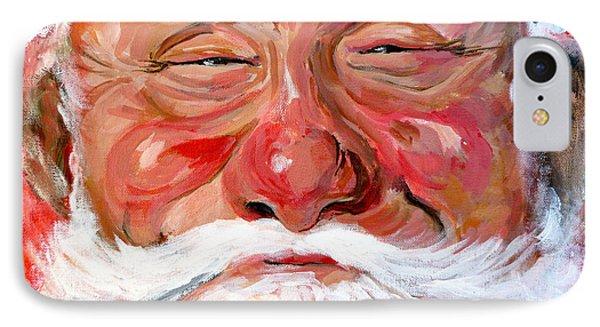 Santa Claus Phone Case by Tom Roderick