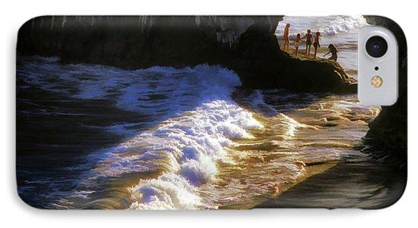 Santa Cruz 'bridge' California Coastline IPhone Case by John A Rodriguez