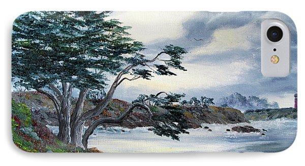 Santa Cruz Cypress Tree IPhone Case