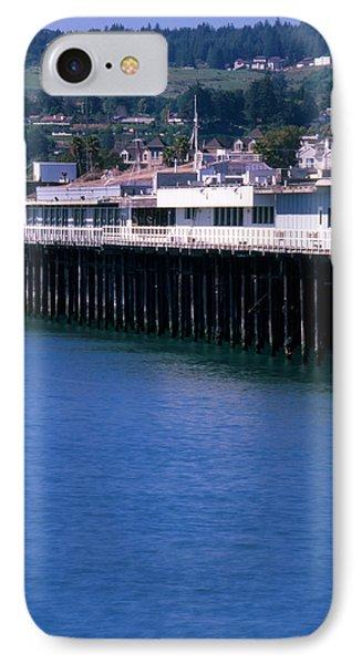 Santa Cruz Pier IPhone Case by Soli Deo Gloria Wilderness And Wildlife Photography