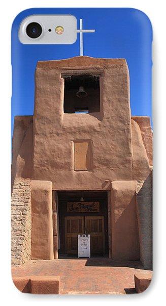 Santa Fe - San Miguel Chapel Phone Case by Frank Romeo