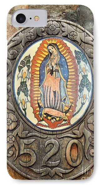 Santa Fe Madonna IPhone Case by Ann Johndro-Collins