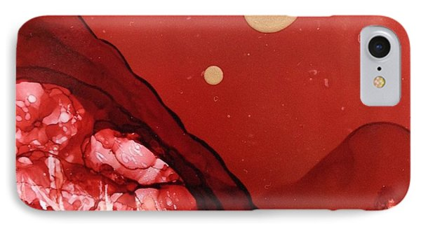 Santa Fe Moonrise IPhone Case