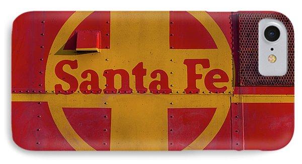 Santa Fe Railroad IPhone Case by Garry Gay