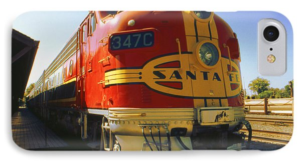 Santa Fe Railroad IPhone Case by Art America Gallery Peter Potter