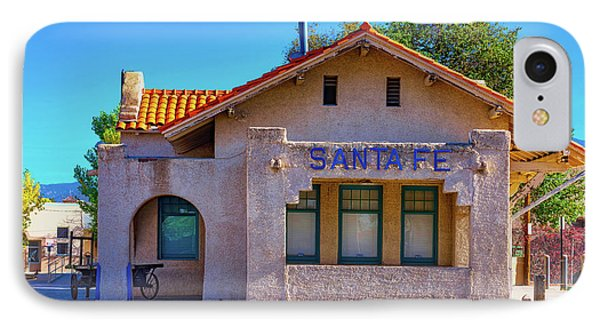 IPhone Case featuring the photograph Santa Fe Station by Stephen Anderson