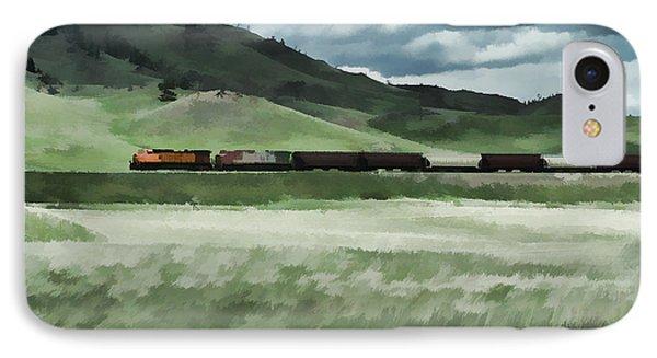 Santa Fe Train IPhone Case by Erica Hanel