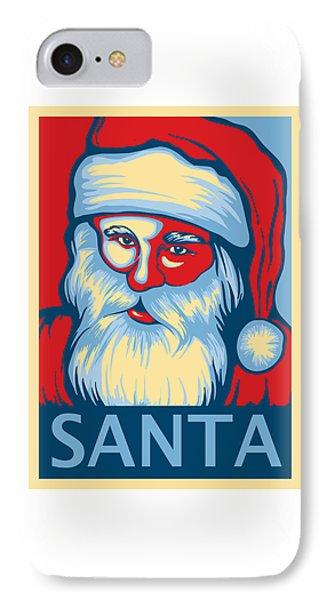 Santa Hope IPhone Case by David Kyte