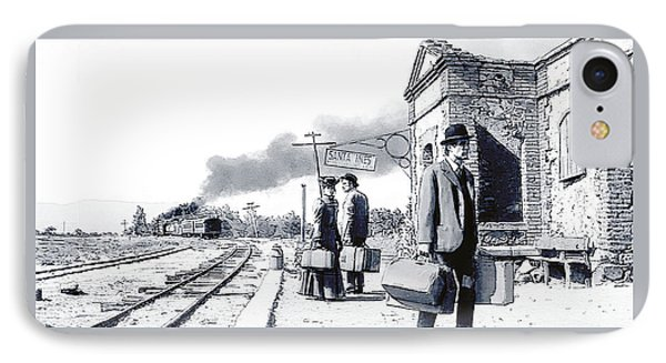 Santa Ines Station IPhone Case