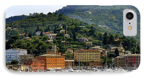 IPhone Case featuring the photograph Santa Margherita Ligure by Corinne Rhode