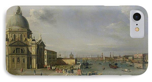 Santa Maria Della Salute - Venice  IPhone Case by William James
