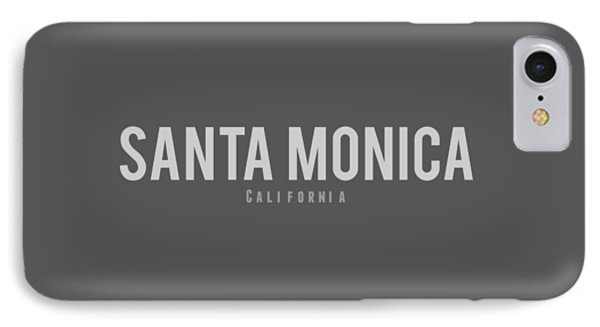 Santa Monica California IPhone Case
