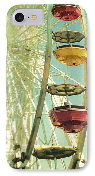 IPhone Case featuring the photograph Santa Monica Ferris Wheel by Douglas MooreZart