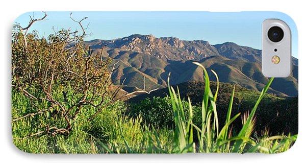 IPhone Case featuring the photograph Santa Monica Mountains Green Landscape by Matt Harang