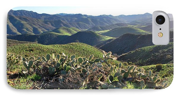 IPhone Case featuring the photograph Santa Monica Mountains - Hills And Cactus by Matt Harang