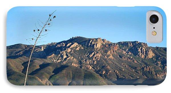 IPhone Case featuring the photograph Santa Monica Mountains View  by Matt Harang