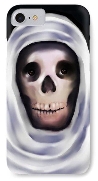 Santa Muerte Phone Case by Carmen Cordova