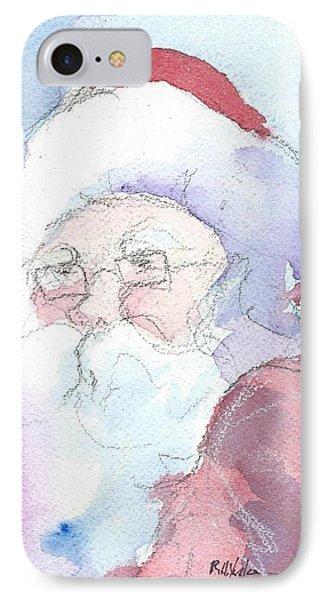 Santa  Phone Case by Robert Yonke