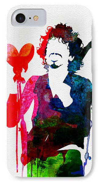 Santana Watercolor IPhone Case by Naxart Studio