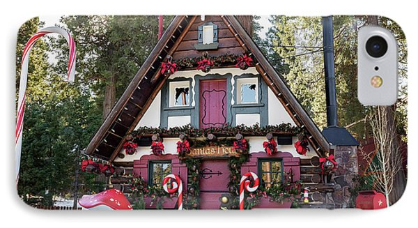 IPhone Case featuring the photograph Santa's House by Eddie Yerkish