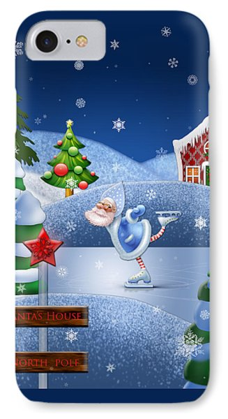 Santa's House - North Pole  IPhone Case