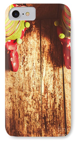 Santas Little Helper IPhone Case by Jorgo Photography - Wall Art Gallery