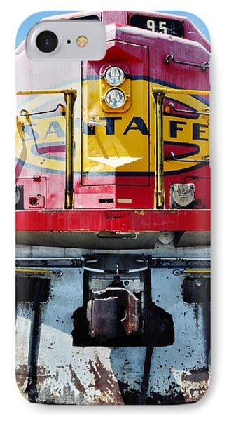 Sante Fe Railway IPhone Case by Kyle Hanson