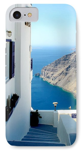 Santorini 2 IPhone Case by Julie Palencia