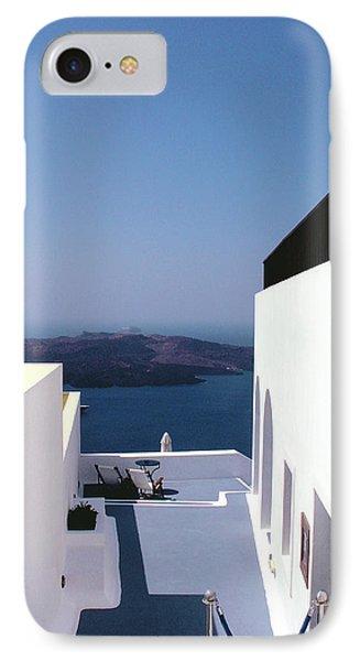 Santorini Blue Phone Case by Julie Palencia