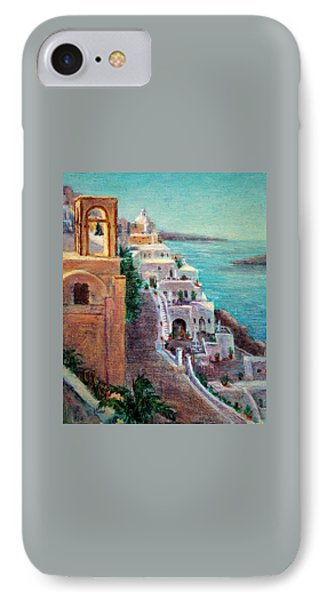 Hotels Of Santorini IPhone Case
