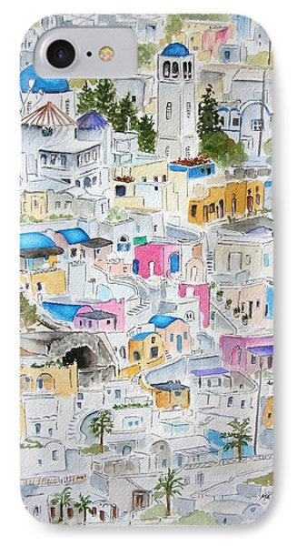 Santorini IPhone Case by Mary Kay Holladay