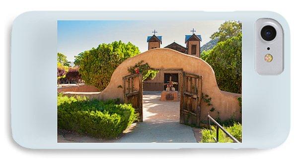 Santuario De Chimayo IPhone Case by Carolyn Dalessandro