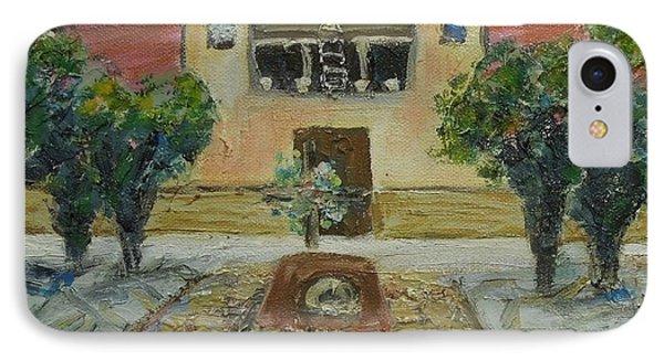 Santuario De Chimayo - Sold IPhone Case by Judith Espinoza