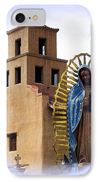 IPhone Case featuring the photograph Santuario De Guadalupe Santa Fe New Mexico by Kurt Van Wagner