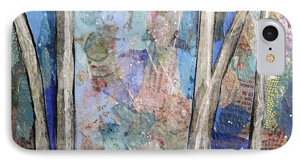 Sapphire Forest II IPhone Case by Shadia Derbyshire
