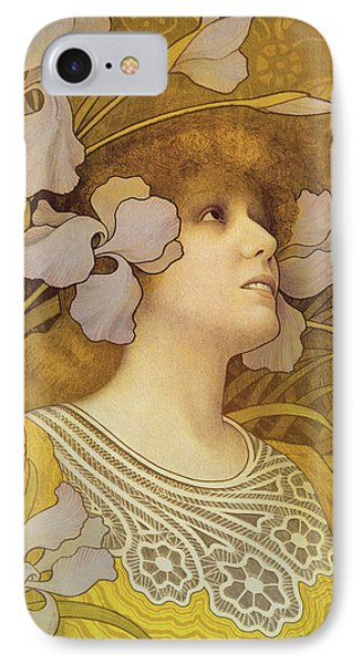 Sarah Bernhardt Phone Case by Paul Berthon