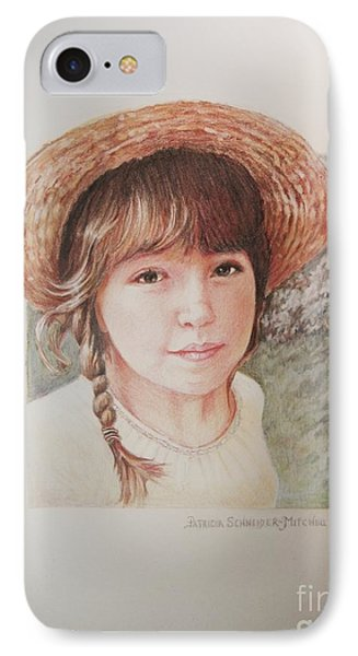 IPhone Case featuring the painting Sarah by Patricia Schneider Mitchell