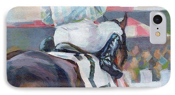 Saratoga Stripes IPhone Case by Kimberly Santini