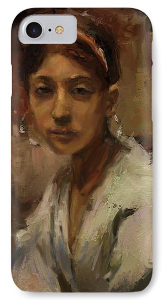 Sargent Study Number 1 Capri Girl Phone Case by Brian Kardell