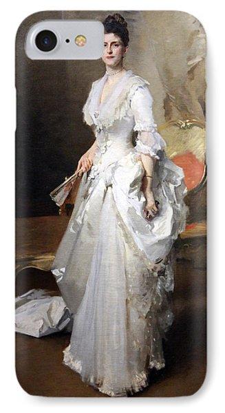 Sargent's Margaret Stuyvesant Rutherfurd White -- Mrs. Henry White IPhone Case by Cora Wandel