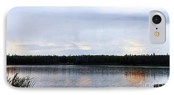 IPhone Case featuring the photograph Saskatoon Lake Alberta by Elaine Manley