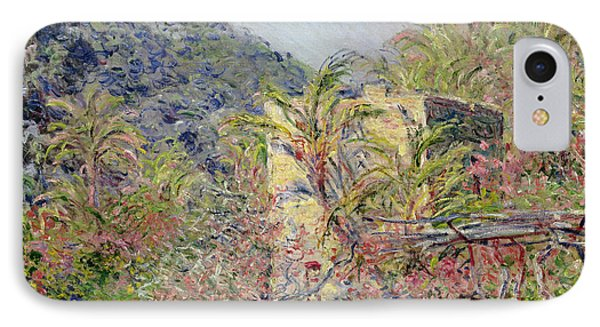 Sasso Valley Phone Case by Claude Monet