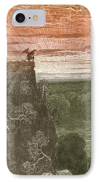 Satan, By Dore Phone Case by Photo Researchers