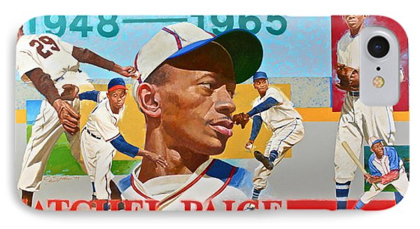 Satchel Paige IPhone Case by Cliff Spohn