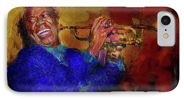 Satchmo IPhone Case by Ted Azriel