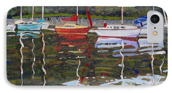 Saugeen Sailboats Phone Case by Phil Chadwick