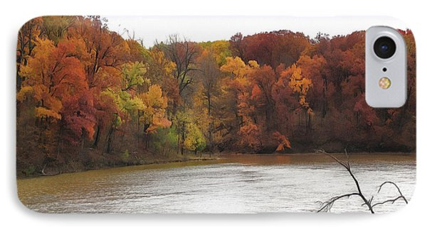 Sauk Lake Autumn IPhone Case